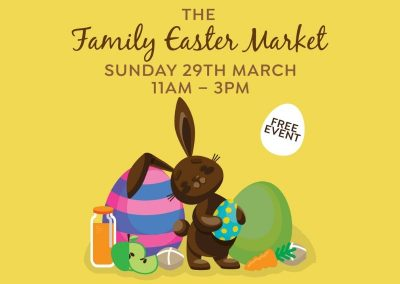 The Family Easter Market | Sun 29 Mar 2020 | 11am – 3pm